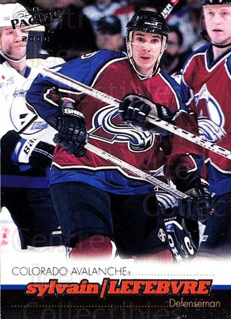1999-00 Pacific #109 Sylvain Lefebvre<br/>4 In Stock - $1.00 each - <a href=https://centericecollectibles.foxycart.com/cart?name=1999-00%20Pacific%20%23109%20Sylvain%20Lefebvr...&quantity_max=4&price=$1.00&code=78329 class=foxycart> Buy it now! </a>