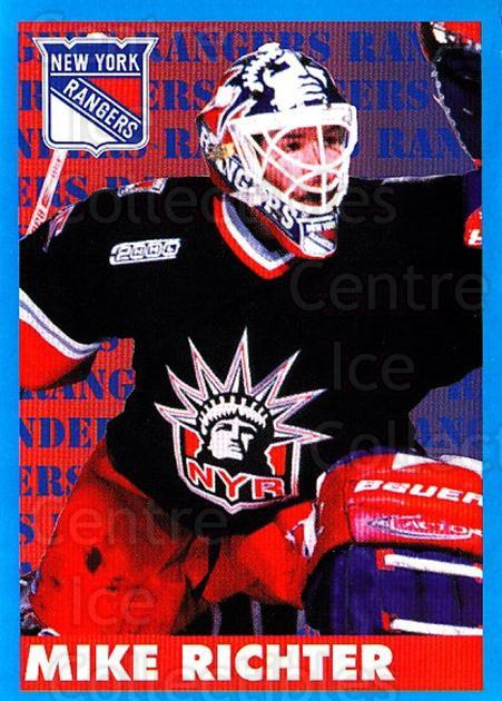 1999-00 Panini Stickers #101 Mike Richter<br/>1 In Stock - $1.00 each - <a href=https://centericecollectibles.foxycart.com/cart?name=1999-00%20Panini%20Stickers%20%23101%20Mike%20Richter...&quantity_max=1&price=$1.00&code=78440 class=foxycart> Buy it now! </a>
