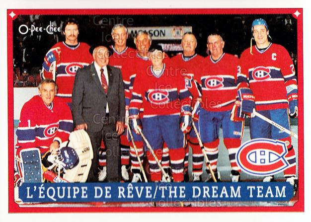 1993 O-Pee-Chee Montreal Canadiens Hockey Fest #59 Jacques Plante, Larry Robinson, Jean Beliveau, Maurice Richard<br/>1 In Stock - $3.00 each - <a href=https://centericecollectibles.foxycart.com/cart?name=1993%20O-Pee-Chee%20Montreal%20Canadiens%20Hockey%20Fest%20%2359%20Jacques%20Plante,...&quantity_max=1&price=$3.00&code=7847 class=foxycart> Buy it now! </a>