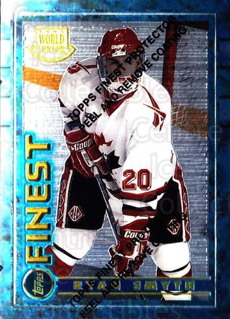 1994-95 Finest #165 Ryan Smyth<br/>1 In Stock - $3.00 each - <a href=https://centericecollectibles.foxycart.com/cart?name=1994-95%20Finest%20%23165%20Ryan%20Smyth...&quantity_max=1&price=$3.00&code=784 class=foxycart> Buy it now! </a>
