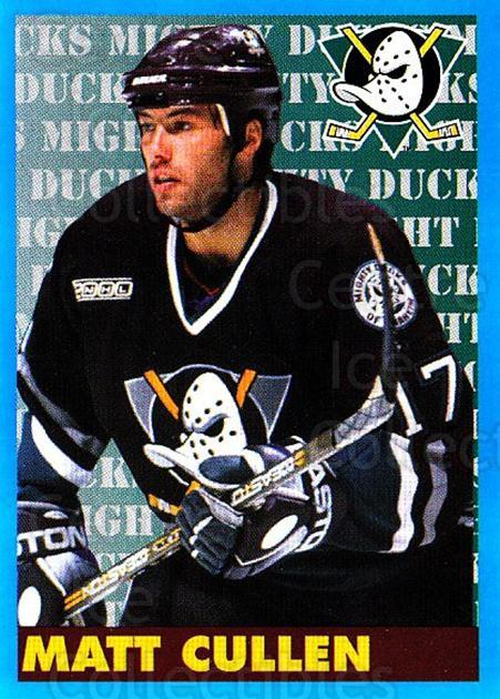 1999-00 Panini Stickers #177 Matt Cullen<br/>6 In Stock - $1.00 each - <a href=https://centericecollectibles.foxycart.com/cart?name=1999-00%20Panini%20Stickers%20%23177%20Matt%20Cullen...&quantity_max=6&price=$1.00&code=78511 class=foxycart> Buy it now! </a>