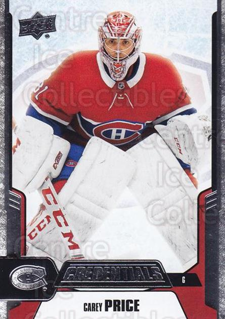 2019-20 Upper Deck Credentials #19 Carey Price<br/>4 In Stock - $5.00 each - <a href=https://centericecollectibles.foxycart.com/cart?name=2019-20%20Upper%20Deck%20Credentials%20%2319%20Carey%20Price...&quantity_max=4&price=$5.00&code=786732 class=foxycart> Buy it now! </a>