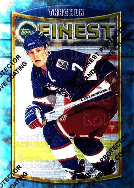 1994-95 Finest #19 Keith Tkachuk<br/>6 In Stock - $1.00 each - <a href=https://centericecollectibles.foxycart.com/cart?name=1994-95%20Finest%20%2319%20Keith%20Tkachuk...&quantity_max=6&price=$1.00&code=787 class=foxycart> Buy it now! </a>