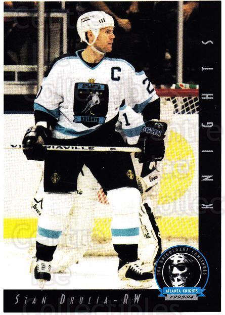 1993-94 Atlanta Knights #14 Stan Drulia<br/>1 In Stock - $3.00 each - <a href=https://centericecollectibles.foxycart.com/cart?name=1993-94%20Atlanta%20Knights%20%2314%20Stan%20Drulia...&price=$3.00&code=7926 class=foxycart> Buy it now! </a>