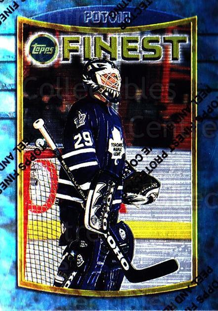 1994-95 Finest #26 Felix Potvin<br/>5 In Stock - $1.00 each - <a href=https://centericecollectibles.foxycart.com/cart?name=1994-95%20Finest%20%2326%20Felix%20Potvin...&quantity_max=5&price=$1.00&code=794 class=foxycart> Buy it now! </a>