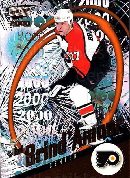 1999-00 Revolution #106 Rod Brind'Amour<br/>3 In Stock - $1.00 each - <a href=https://centericecollectibles.foxycart.com/cart?name=1999-00%20Revolution%20%23106%20Rod%20Brind'Amour...&quantity_max=3&price=$1.00&code=79541 class=foxycart> Buy it now! </a>