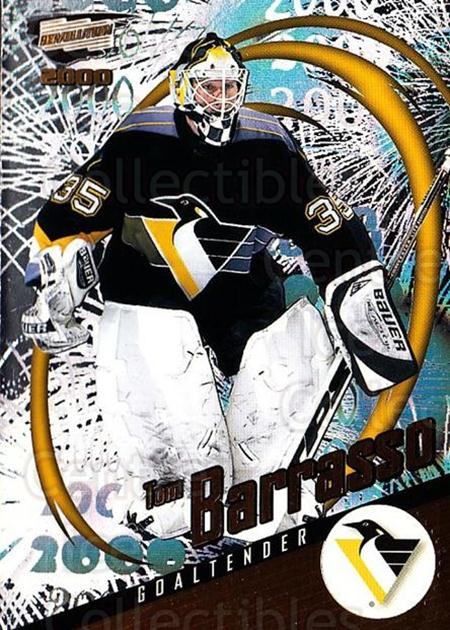 1999-00 Revolution #116 Tom Barrasso<br/>2 In Stock - $1.00 each - <a href=https://centericecollectibles.foxycart.com/cart?name=1999-00%20Revolution%20%23116%20Tom%20Barrasso...&price=$1.00&code=79551 class=foxycart> Buy it now! </a>