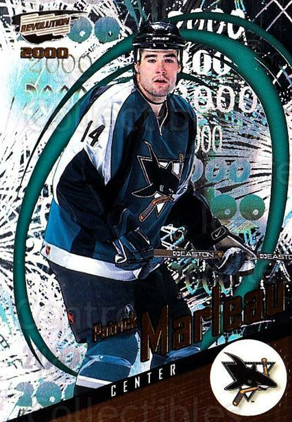 1999-00 Revolution #128 Patrick Marleau<br/>3 In Stock - $1.00 each - <a href=https://centericecollectibles.foxycart.com/cart?name=1999-00%20Revolution%20%23128%20Patrick%20Marleau...&quantity_max=3&price=$1.00&code=79563 class=foxycart> Buy it now! </a>