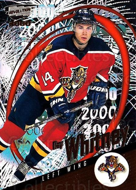 1999-00 Revolution #66 Ray Whitney<br/>3 In Stock - $1.00 each - <a href=https://centericecollectibles.foxycart.com/cart?name=1999-00%20Revolution%20%2366%20Ray%20Whitney...&quantity_max=3&price=$1.00&code=79628 class=foxycart> Buy it now! </a>