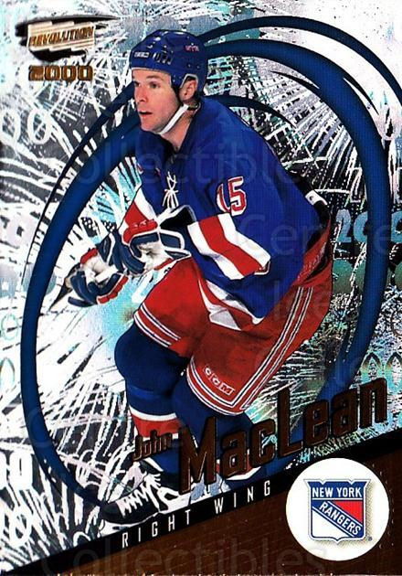 1999-00 Revolution #98 John MacLean<br/>2 In Stock - $1.00 each - <a href=https://centericecollectibles.foxycart.com/cart?name=1999-00%20Revolution%20%2398%20John%20MacLean...&quantity_max=2&price=$1.00&code=79662 class=foxycart> Buy it now! </a>