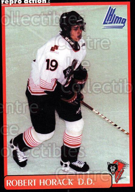 1999-00 Rouyn-Noranda Huskies #10 Robert Horak<br/>2 In Stock - $3.00 each - <a href=https://centericecollectibles.foxycart.com/cart?name=1999-00%20Rouyn-Noranda%20Huskies%20%2310%20Robert%20Horak...&quantity_max=2&price=$3.00&code=79688 class=foxycart> Buy it now! </a>