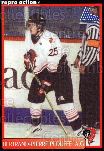 1999-00 Rouyn-Noranda Huskies #15 Bertrand-Pierre Plouffe<br/>5 In Stock - $3.00 each - <a href=https://centericecollectibles.foxycart.com/cart?name=1999-00%20Rouyn-Noranda%20Huskies%20%2315%20Bertrand-Pierre...&quantity_max=5&price=$3.00&code=79693 class=foxycart> Buy it now! </a>