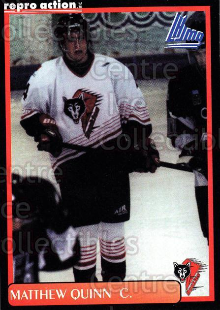 1999-00 Rouyn-Noranda Huskies #16 Matthew Quinn<br/>5 In Stock - $3.00 each - <a href=https://centericecollectibles.foxycart.com/cart?name=1999-00%20Rouyn-Noranda%20Huskies%20%2316%20Matthew%20Quinn...&quantity_max=5&price=$3.00&code=79694 class=foxycart> Buy it now! </a>