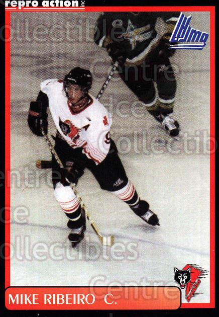 1999-00 Rouyn-Noranda Huskies #17 Mike Ribeiro<br/>3 In Stock - $3.00 each - <a href=https://centericecollectibles.foxycart.com/cart?name=1999-00%20Rouyn-Noranda%20Huskies%20%2317%20Mike%20Ribeiro...&quantity_max=3&price=$3.00&code=79695 class=foxycart> Buy it now! </a>