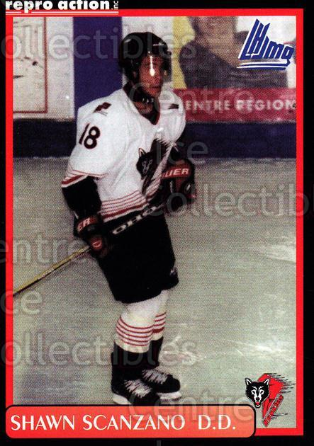 1999-00 Rouyn-Noranda Huskies #18 Shawn Scanzano<br/>2 In Stock - $3.00 each - <a href=https://centericecollectibles.foxycart.com/cart?name=1999-00%20Rouyn-Noranda%20Huskies%20%2318%20Shawn%20Scanzano...&quantity_max=2&price=$3.00&code=79696 class=foxycart> Buy it now! </a>