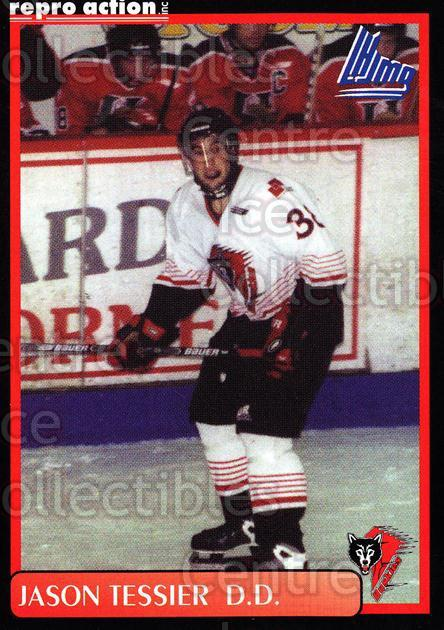 1999-00 Rouyn-Noranda Huskies #19 Jason Tessier<br/>4 In Stock - $3.00 each - <a href=https://centericecollectibles.foxycart.com/cart?name=1999-00%20Rouyn-Noranda%20Huskies%20%2319%20Jason%20Tessier...&quantity_max=4&price=$3.00&code=79697 class=foxycart> Buy it now! </a>