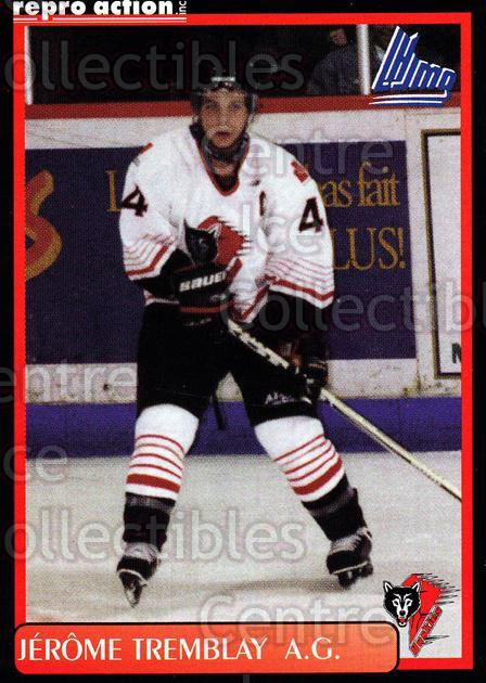 1999-00 Rouyn-Noranda Huskies #20 Jerome Tremblay<br/>5 In Stock - $3.00 each - <a href=https://centericecollectibles.foxycart.com/cart?name=1999-00%20Rouyn-Noranda%20Huskies%20%2320%20Jerome%20Tremblay...&quantity_max=5&price=$3.00&code=79699 class=foxycart> Buy it now! </a>