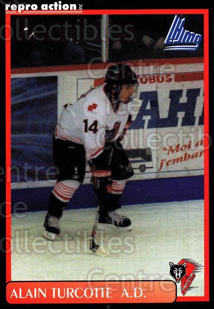 1999-00 Rouyn-Noranda Huskies #21 Alain Turcotte<br/>5 In Stock - $3.00 each - <a href=https://centericecollectibles.foxycart.com/cart?name=1999-00%20Rouyn-Noranda%20Huskies%20%2321%20Alain%20Turcotte...&quantity_max=5&price=$3.00&code=79700 class=foxycart> Buy it now! </a>