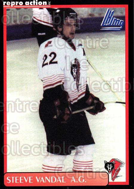 1999-00 Rouyn-Noranda Huskies #22 Steve Vandal<br/>5 In Stock - $3.00 each - <a href=https://centericecollectibles.foxycart.com/cart?name=1999-00%20Rouyn-Noranda%20Huskies%20%2322%20Steve%20Vandal...&quantity_max=5&price=$3.00&code=79701 class=foxycart> Buy it now! </a>