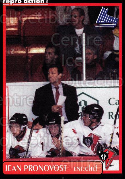 1999-00 Rouyn-Noranda Huskies #25 Jean Pronovost<br/>5 In Stock - $3.00 each - <a href=https://centericecollectibles.foxycart.com/cart?name=1999-00%20Rouyn-Noranda%20Huskies%20%2325%20Jean%20Pronovost...&quantity_max=5&price=$3.00&code=79704 class=foxycart> Buy it now! </a>