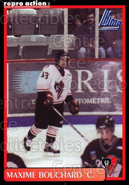 1999-00 Rouyn-Noranda Huskies #3 Maxime Bouchard<br/>5 In Stock - $3.00 each - <a href=https://centericecollectibles.foxycart.com/cart?name=1999-00%20Rouyn-Noranda%20Huskies%20%233%20Maxime%20Bouchard...&quantity_max=5&price=$3.00&code=79706 class=foxycart> Buy it now! </a>