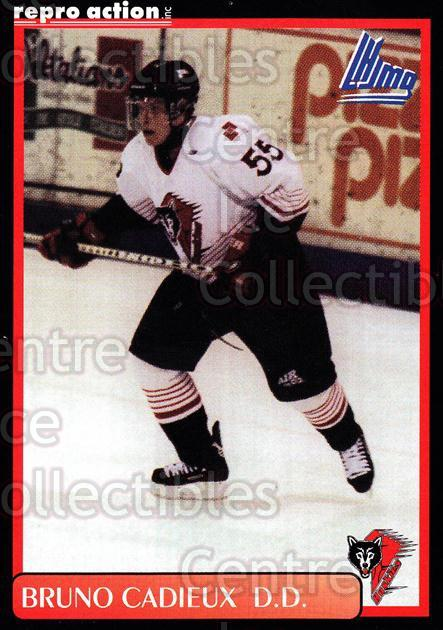 1999-00 Rouyn-Noranda Huskies #4 Bruno Cadieux<br/>4 In Stock - $3.00 each - <a href=https://centericecollectibles.foxycart.com/cart?name=1999-00%20Rouyn-Noranda%20Huskies%20%234%20Bruno%20Cadieux...&quantity_max=4&price=$3.00&code=79707 class=foxycart> Buy it now! </a>