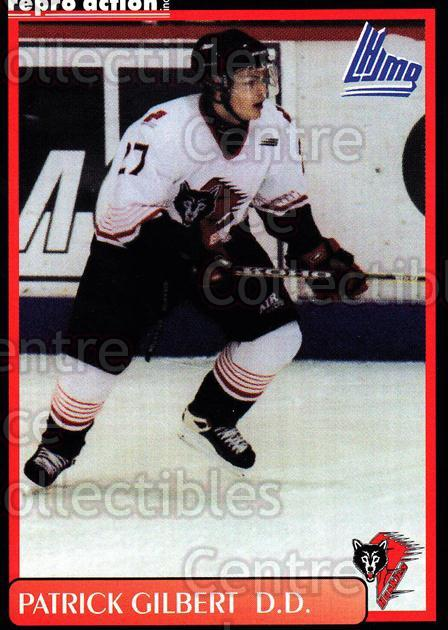 1999-00 Rouyn-Noranda Huskies #8 Patrick Gilbert<br/>5 In Stock - $3.00 each - <a href=https://centericecollectibles.foxycart.com/cart?name=1999-00%20Rouyn-Noranda%20Huskies%20%238%20Patrick%20Gilbert...&quantity_max=5&price=$3.00&code=79711 class=foxycart> Buy it now! </a>