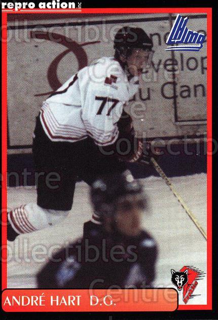 1999-00 Rouyn-Noranda Huskies #9 Andre Hart<br/>5 In Stock - $3.00 each - <a href=https://centericecollectibles.foxycart.com/cart?name=1999-00%20Rouyn-Noranda%20Huskies%20%239%20Andre%20Hart...&quantity_max=5&price=$3.00&code=79712 class=foxycart> Buy it now! </a>