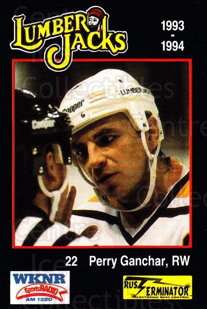 1993-94 Cleveland Lumberjacks #16 Perry Ganchar<br/>4 In Stock - $3.00 each - <a href=https://centericecollectibles.foxycart.com/cart?name=1993-94%20Cleveland%20Lumberjacks%20%2316%20Perry%20Ganchar...&quantity_max=4&price=$3.00&code=7975 class=foxycart> Buy it now! </a>