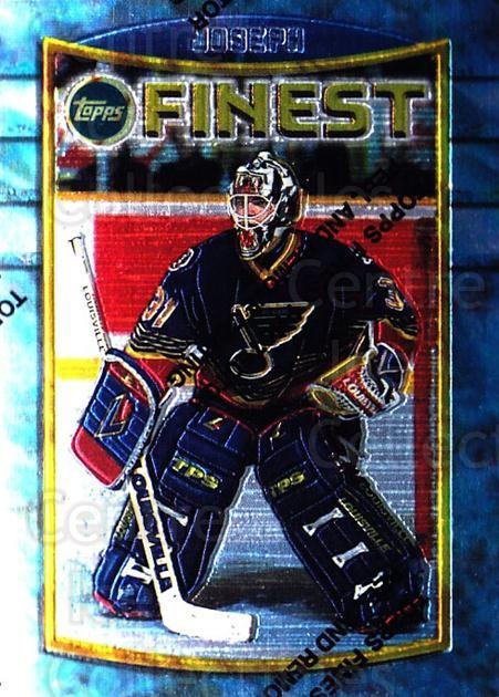 1994-95 Finest #29 Curtis Joseph<br/>3 In Stock - $1.00 each - <a href=https://centericecollectibles.foxycart.com/cart?name=1994-95%20Finest%20%2329%20Curtis%20Joseph...&quantity_max=3&price=$1.00&code=797 class=foxycart> Buy it now! </a>