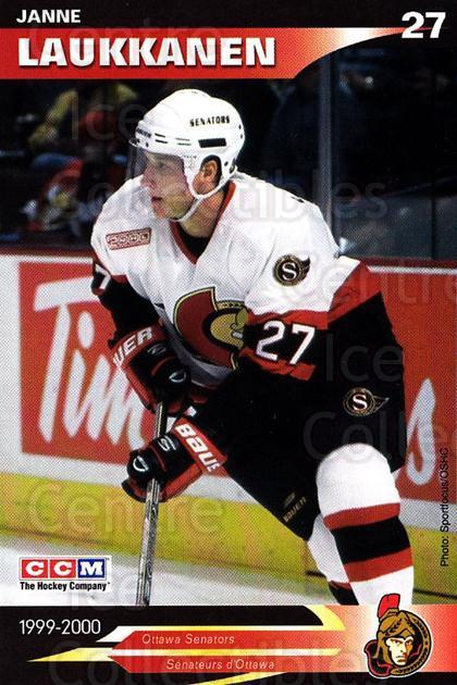 1999-00 Ottawa Senators Team Issue #12 Janne Laukkanen<br/>4 In Stock - $3.00 each - <a href=https://centericecollectibles.foxycart.com/cart?name=1999-00%20Ottawa%20Senators%20Team%20Issue%20%2312%20Janne%20Laukkanen...&quantity_max=4&price=$3.00&code=79958 class=foxycart> Buy it now! </a>