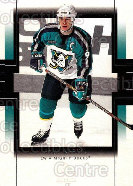 1999-00 SP Authentic #1 Paul Kariya<br/>5 In Stock - $1.00 each - <a href=https://centericecollectibles.foxycart.com/cart?name=1999-00%20SP%20Authentic%20%231%20Paul%20Kariya...&price=$1.00&code=80001 class=foxycart> Buy it now! </a>