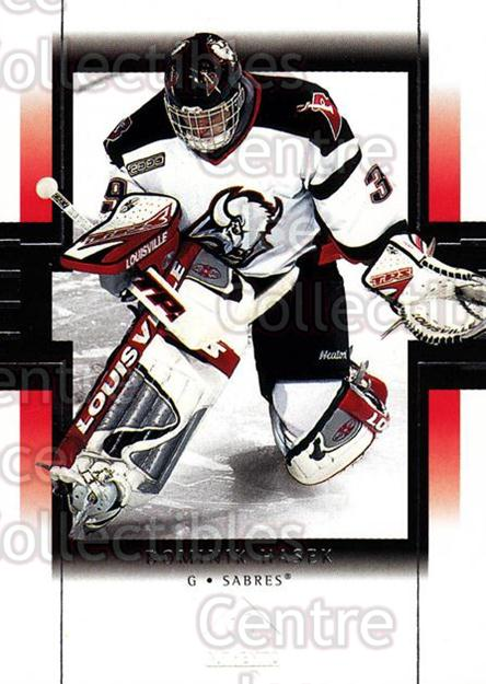 1999-00 SP Authentic #10 Dominik Hasek<br/>3 In Stock - $1.00 each - <a href=https://centericecollectibles.foxycart.com/cart?name=1999-00%20SP%20Authentic%20%2310%20Dominik%20Hasek...&price=$1.00&code=80002 class=foxycart> Buy it now! </a>