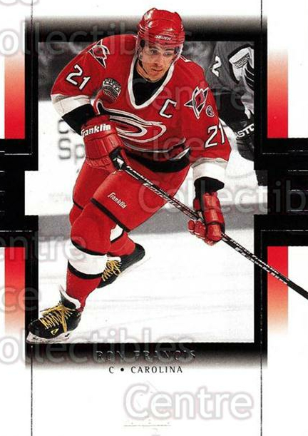 1999-00 SP Authentic #16 Ron Francis<br/>5 In Stock - $1.00 each - <a href=https://centericecollectibles.foxycart.com/cart?name=1999-00%20SP%20Authentic%20%2316%20Ron%20Francis...&price=$1.00&code=80016 class=foxycart> Buy it now! </a>