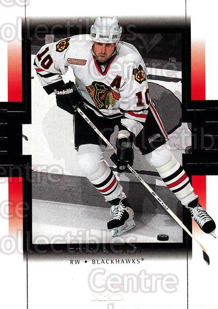 1999-00 SP Authentic #19 Tony Amonte<br/>5 In Stock - $1.00 each - <a href=https://centericecollectibles.foxycart.com/cart?name=1999-00%20SP%20Authentic%20%2319%20Tony%20Amonte...&price=$1.00&code=80019 class=foxycart> Buy it now! </a>