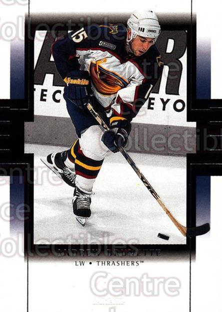 1999-00 SP Authentic #5 Andrew Brunette<br/>5 In Stock - $1.00 each - <a href=https://centericecollectibles.foxycart.com/cart?name=1999-00%20SP%20Authentic%20%235%20Andrew%20Brunette...&price=$1.00&code=80052 class=foxycart> Buy it now! </a>