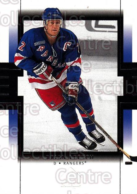 1999-00 SP Authentic #58 Brian Leetch<br/>5 In Stock - $1.00 each - <a href=https://centericecollectibles.foxycart.com/cart?name=1999-00%20SP%20Authentic%20%2358%20Brian%20Leetch...&price=$1.00&code=80061 class=foxycart> Buy it now! </a>