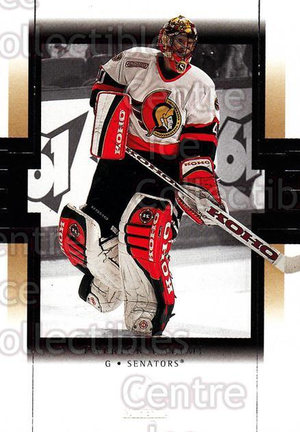 1999-00 SP Authentic #61 Patrick Lalime<br/>4 In Stock - $1.00 each - <a href=https://centericecollectibles.foxycart.com/cart?name=1999-00%20SP%20Authentic%20%2361%20Patrick%20Lalime...&price=$1.00&code=80065 class=foxycart> Buy it now! </a>