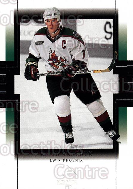 1999-00 SP Authentic #66 Keith Tkachuk<br/>5 In Stock - $1.00 each - <a href=https://centericecollectibles.foxycart.com/cart?name=1999-00%20SP%20Authentic%20%2366%20Keith%20Tkachuk...&price=$1.00&code=80070 class=foxycart> Buy it now! </a>