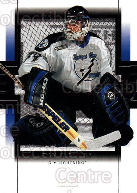 1999-00 SP Authentic #79 Dan Cloutier<br/>4 In Stock - $1.00 each - <a href=https://centericecollectibles.foxycart.com/cart?name=1999-00%20SP%20Authentic%20%2379%20Dan%20Cloutier...&price=$1.00&code=80084 class=foxycart> Buy it now! </a>