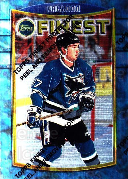 1994-95 Finest #32 Pat Falloon<br/>6 In Stock - $1.00 each - <a href=https://centericecollectibles.foxycart.com/cart?name=1994-95%20Finest%20%2332%20Pat%20Falloon...&quantity_max=6&price=$1.00&code=800 class=foxycart> Buy it now! </a>