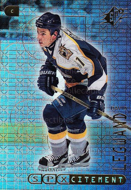 1999-00 SPx SPXcitement #5 David Legwand<br/>15 In Stock - $2.00 each - <a href=https://centericecollectibles.foxycart.com/cart?name=1999-00%20SPx%20SPXcitement%20%235%20David%20Legwand...&quantity_max=15&price=$2.00&code=80161 class=foxycart> Buy it now! </a>