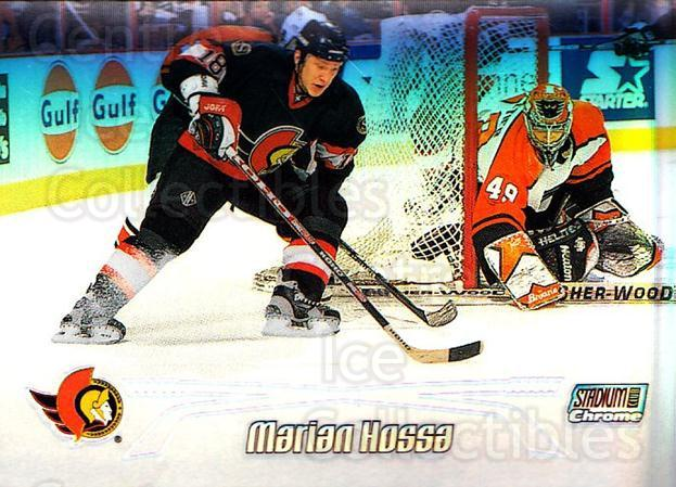 1999-00 Stadium Club Chrome Refractors #30 Marian Hossa<br/>3 In Stock - $5.00 each - <a href=https://centericecollectibles.foxycart.com/cart?name=1999-00%20Stadium%20Club%20Chrome%20Refractors%20%2330%20Marian%20Hossa...&quantity_max=3&price=$5.00&code=80351 class=foxycart> Buy it now! </a>