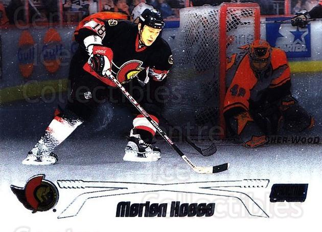 1999-00 Stadium Club Chrome #30 Marian Hossa<br/>3 In Stock - $2.00 each - <a href=https://centericecollectibles.foxycart.com/cart?name=1999-00%20Stadium%20Club%20Chrome%20%2330%20Marian%20Hossa...&quantity_max=3&price=$2.00&code=80380 class=foxycart> Buy it now! </a>