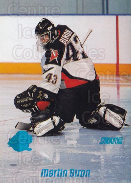 1999-00 Stadium Club #191 Martin Biron<br/>6 In Stock - $1.00 each - <a href=https://centericecollectibles.foxycart.com/cart?name=1999-00%20Stadium%20Club%20%23191%20Martin%20Biron...&quantity_max=6&price=$1.00&code=80545 class=foxycart> Buy it now! </a>