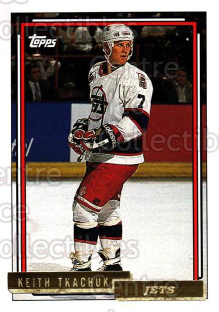1992-93 Topps Gold #102 Keith Tkachuk<br/>6 In Stock - $2.00 each - <a href=https://centericecollectibles.foxycart.com/cart?name=1992-93%20Topps%20Gold%20%23102%20Keith%20Tkachuk...&quantity_max=6&price=$2.00&code=8057 class=foxycart> Buy it now! </a>