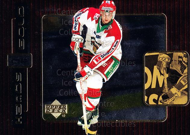 1999-00 Swedish Upper Deck Hands of Gold #15 Kristian Huselius<br/>5 In Stock - $3.00 each - <a href=https://centericecollectibles.foxycart.com/cart?name=1999-00%20Swedish%20Upper%20Deck%20Hands%20of%20Gold%20%2315%20Kristian%20Huseli...&quantity_max=5&price=$3.00&code=80600 class=foxycart> Buy it now! </a>