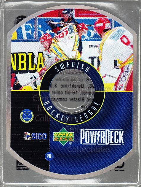 1999-00 Swedish Upper Deck PowerDeck #1 Swedish Hockey<br/>2 In Stock - $5.00 each - <a href=https://centericecollectibles.foxycart.com/cart?name=1999-00%20Swedish%20Upper%20Deck%20PowerDeck%20%231%20Swedish%20Hockey...&quantity_max=2&price=$5.00&code=80605 class=foxycart> Buy it now! </a>