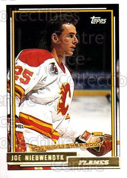 1992-93 Topps Gold #105 Joe Nieuwendyk<br/>7 In Stock - $2.00 each - <a href=https://centericecollectibles.foxycart.com/cart?name=1992-93%20Topps%20Gold%20%23105%20Joe%20Nieuwendyk...&quantity_max=7&price=$2.00&code=8060 class=foxycart> Buy it now! </a>