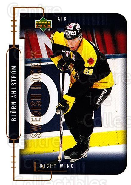 1999-00 Swedish Upper Deck #10 Bjorn Ahlstrom<br/>9 In Stock - $2.00 each - <a href=https://centericecollectibles.foxycart.com/cart?name=1999-00%20Swedish%20Upper%20Deck%20%2310%20Bjorn%20Ahlstrom...&quantity_max=9&price=$2.00&code=80613 class=foxycart> Buy it now! </a>